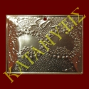 Dedication plaque with engraved matrimonial crown