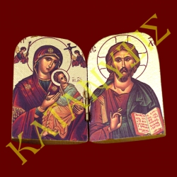 Παναγία Βρεφοκρατούσα & Ιησούς Χριστός