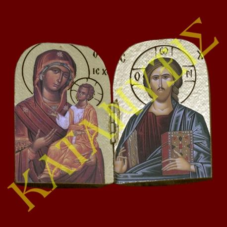 Παναγία-Βρεφοκρατούσα-Ιησούς-Χριστός