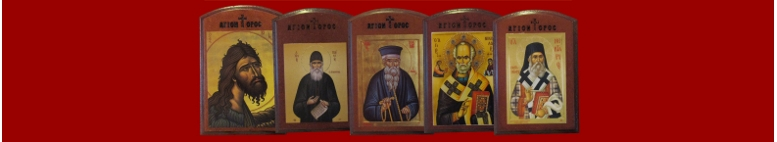 Wooden Saint Icons